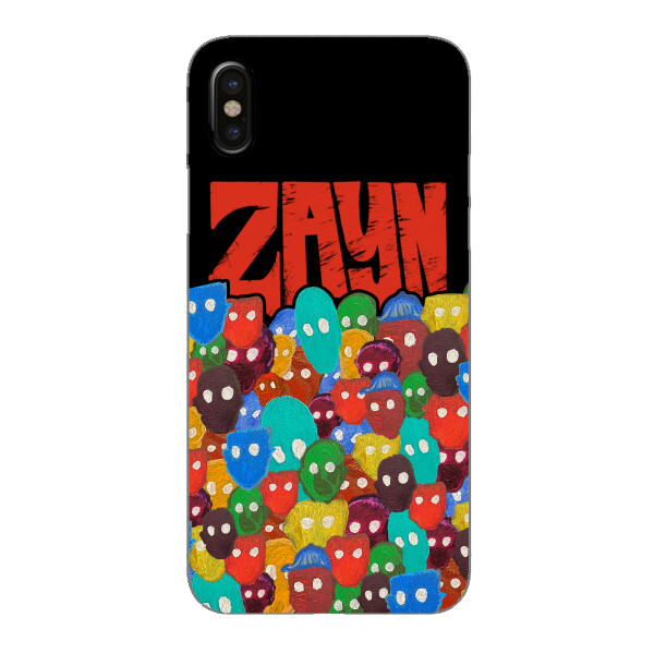 ZAYN Logo with Color Faces Phone Case